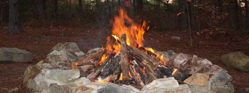 Beavers Bend Fire Pit - Castlewood Trails