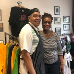 Mr. & Mrs. Al & Peggy Logan. Husband wife duo that established Historic 4th Avenue Shirts after retirement. If you're in the area stop in to talk with them about Birmingham's social history, get a flavored shaved ice, browse, and buy from their selection of retail items.