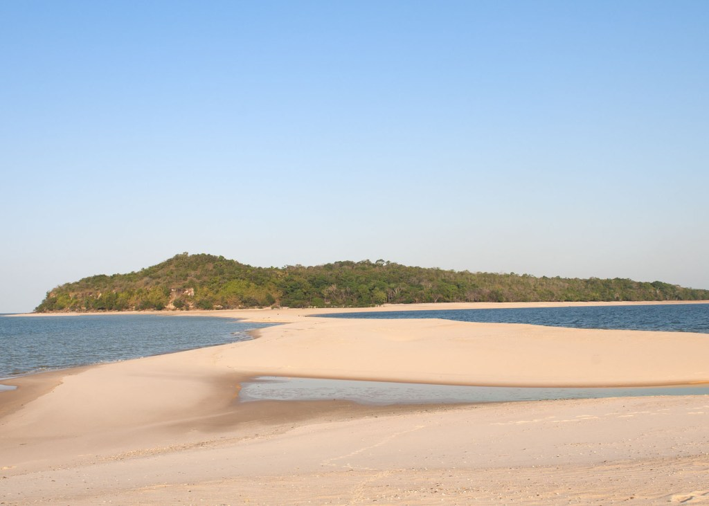 """""""Alter do ChA#o is a fluvial beach located near the city of Santarem. Sandbank of a fluvial and natural beach on the riverside of the Tapajos river, one of the most important rivers of the amazon basin"""""""