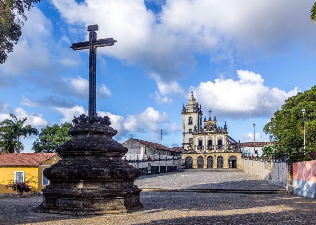 Sao Francisco Church - Joao Pessoa, Paraiba, Brazil