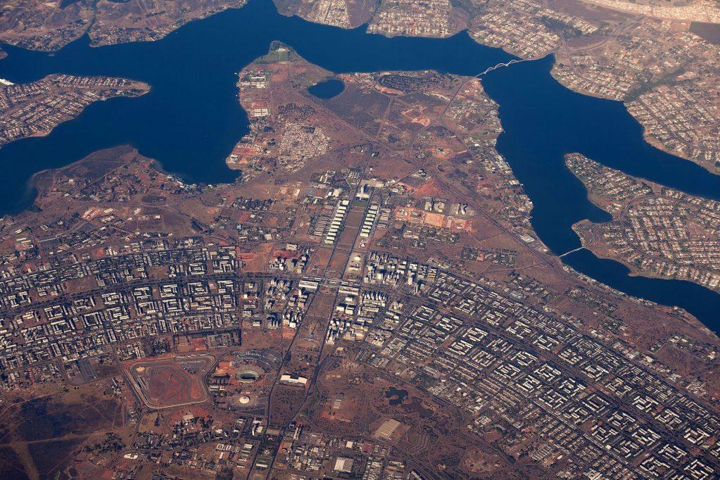 Aerial view of brazilian Capital Brasilia