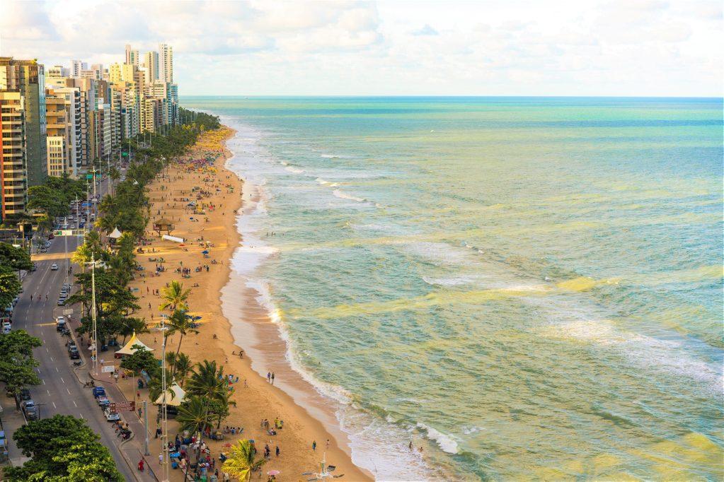 Beach, Recife, Pernambuco State, Brazil, Travel