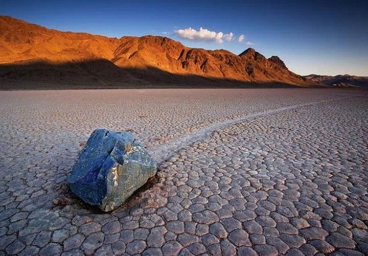RaceTrack Playa, a highlight of the Death Valley and Joshua Tree National Parks visits