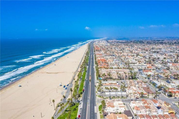 Huntington Beach near Anaheim