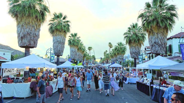 VillageFest part of one week in Palm Springs