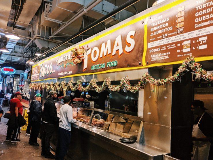 Tacos Tumbra at LAs Grand Central Market