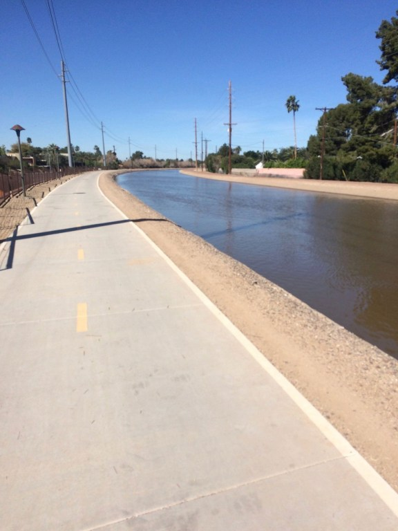 Arizona Canal Bike Path- One of the Best Cycling Routes in Scottsdale