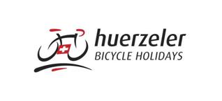 Huerzeler Bicycle holidays logotipo