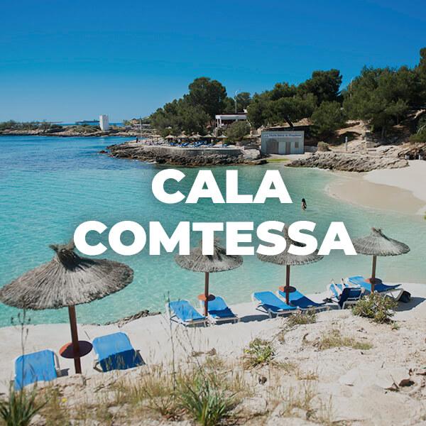 Cala Comtessa en Ses Illetes, Calvià: playas espectaculares en Mallorca