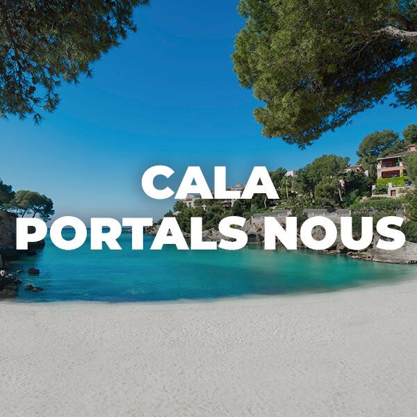 Calvià: playas espectaculares en Mallorca. Cala Portals Nous