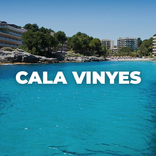 Playa de CALA VINYES , Calvià: playas espectaculares en Mallorca