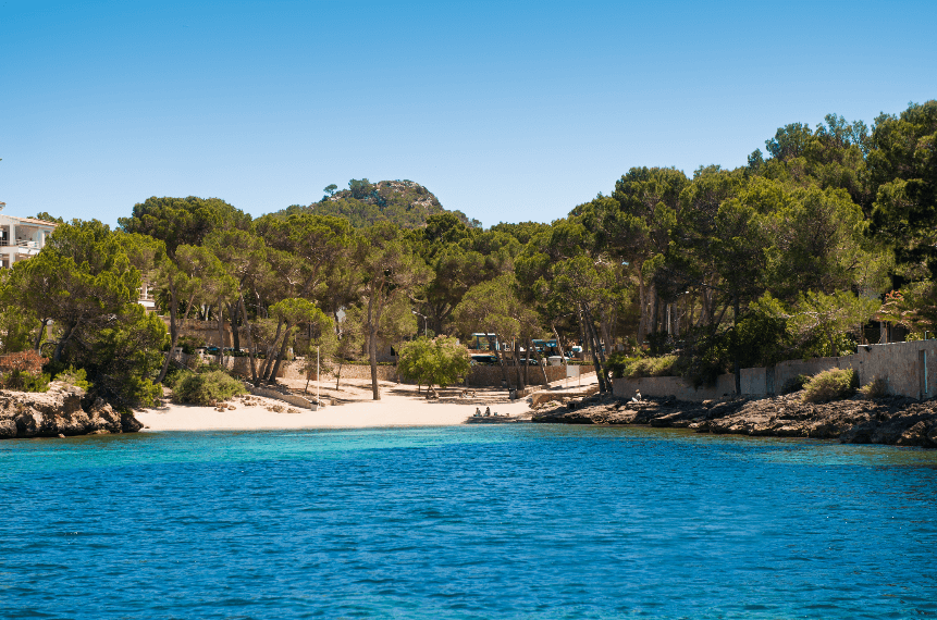 Caló d'en Pellisser en Santa Ponça , Santa Ponça en familia, Santa Ponsa family holidays, Caló de'n Pellisser - Mallorca.