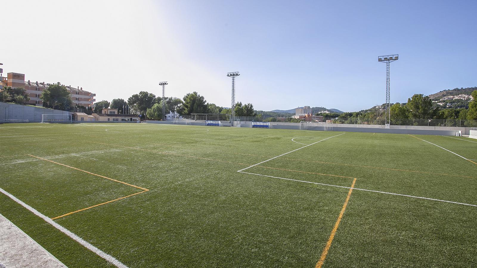 Football in Peguera Mallorca. Football Preseason training in Peguera. Entrenar fútbol en Mallorca