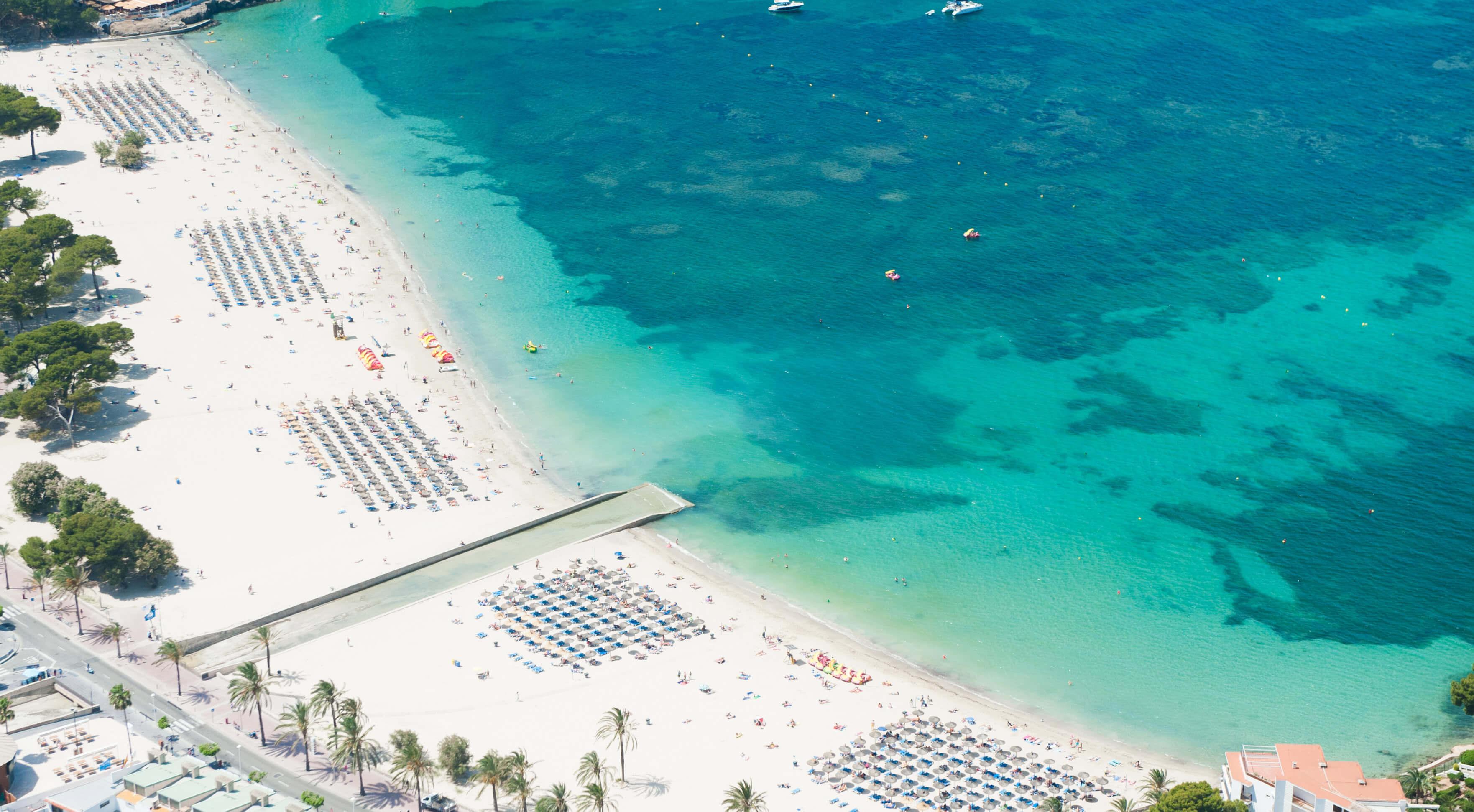 Santa Ponça en familia, playa de santa ponça , santa ponsa beach in Mallorca