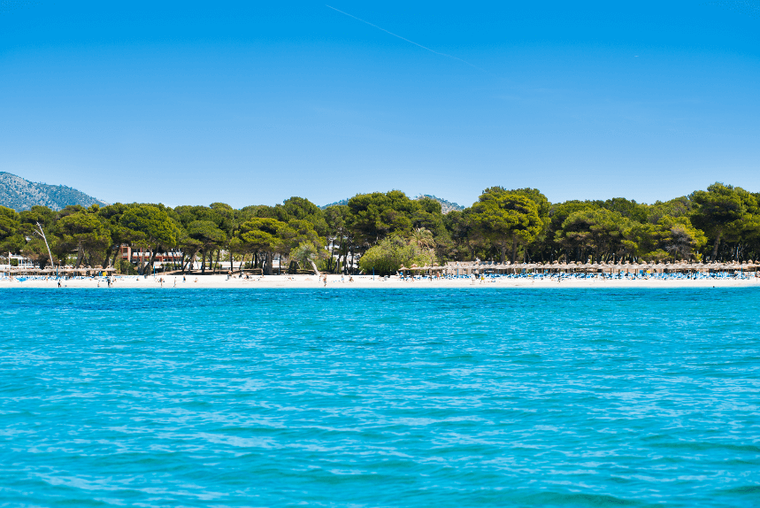 Santa ponça en familia playa , family holidays in santa ponsa, santa ponsa, Mallorca