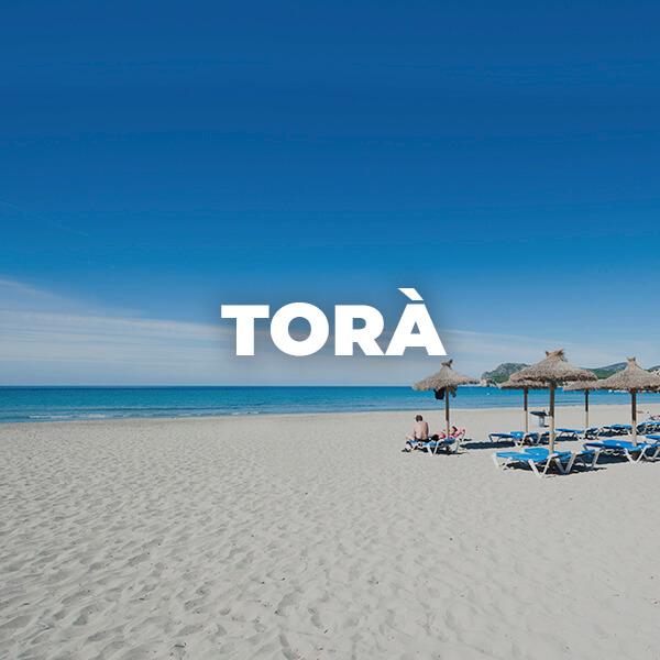 Playa de Torà en Peguera. Calvià: playas espectaculares en Mallorca. Torà beach