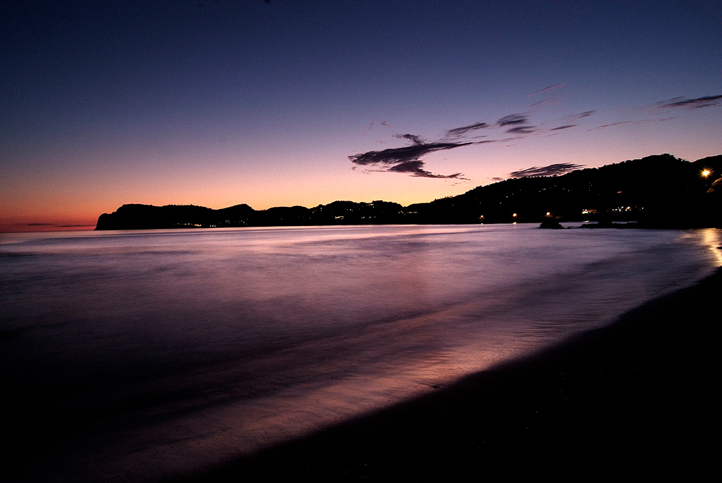Peguera destaca por sus playas, puesta de sol en Peguera, Peguera sunset, Torà beach peguera
