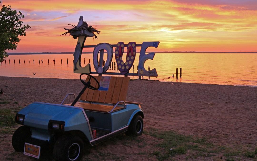 Colonial Beach Celebrating 50 Years of Love in Virginia