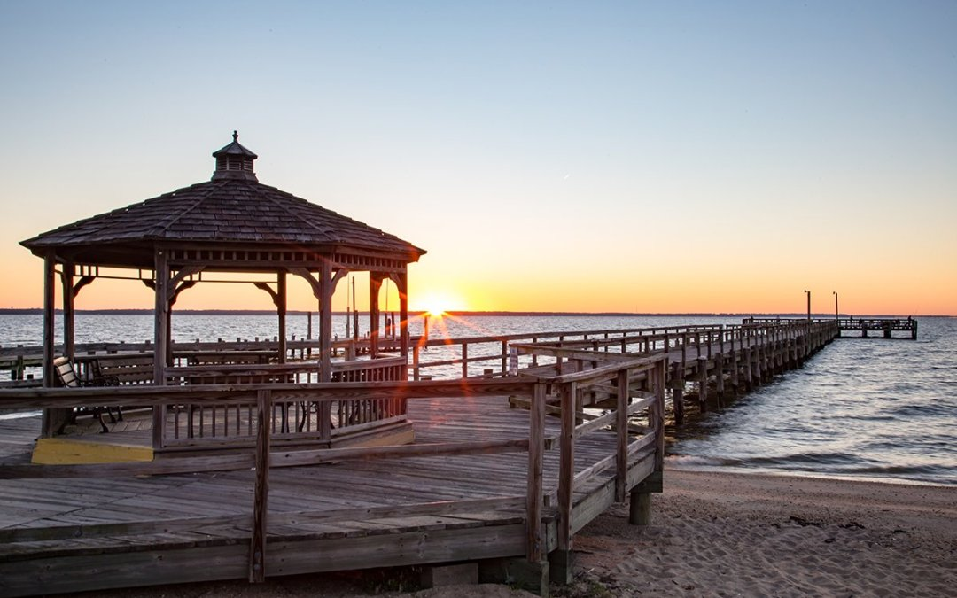 Palm Trees, Sandy Beaches and More in Colonial Beach via Alexandria Living Magazine