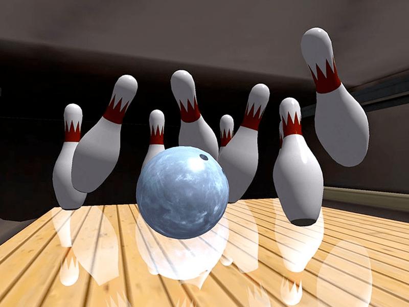 Wii Bowling at Dockside Restaurant & Tiki Bar