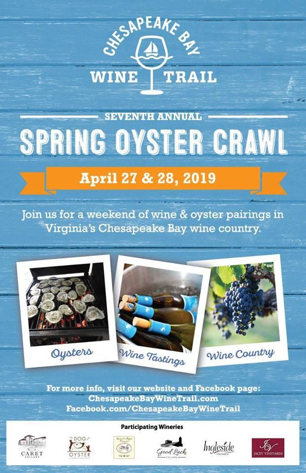 Spring Oyster & Wine Crawl 2019
