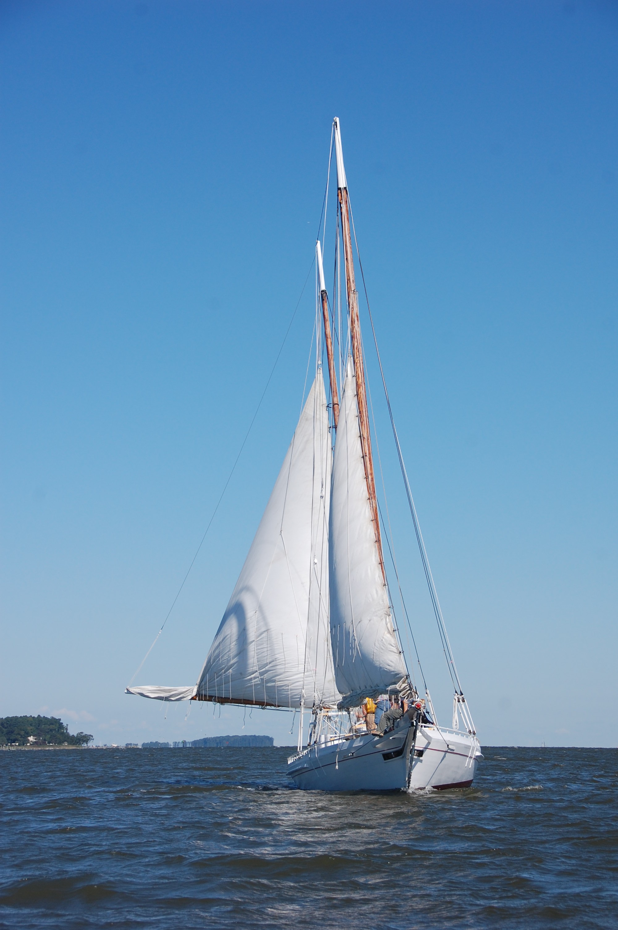 Historic sailboat to be docked in CBVA during Colonial Beach event.