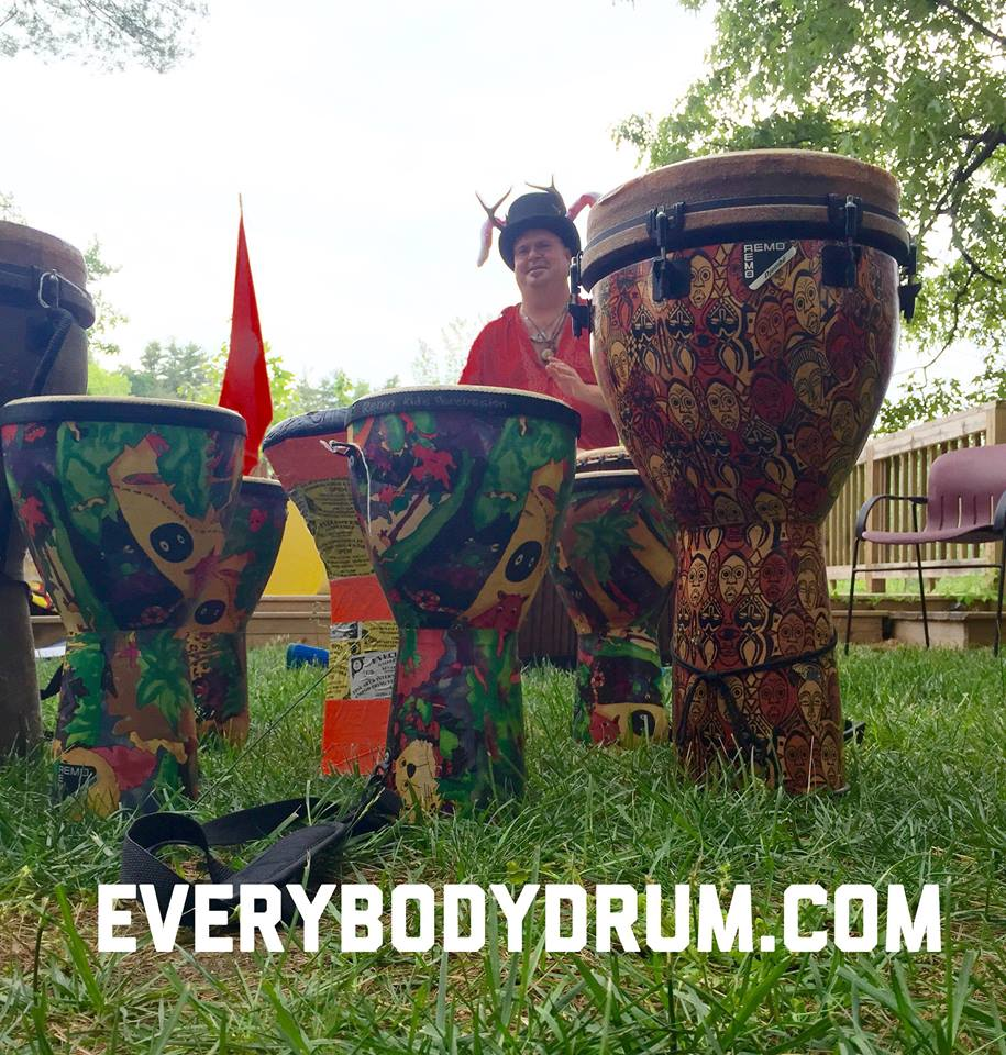 Colonial Beach Events Drum Circle
