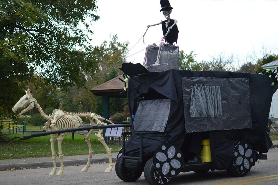 Spook My Ride! Golf Cart Community Halloween Parade