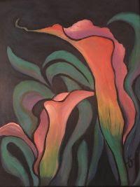 Floral Arrangement Painting Class