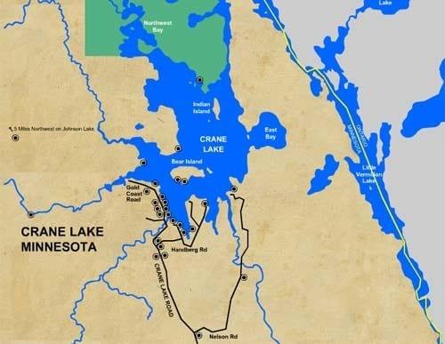 Fishing Lake Miltona Mn Map