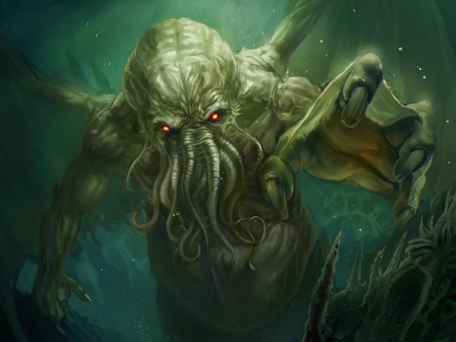 Not One To Be Left Out Of The Action Fans Mythic Tyrant Cthulhu Have Named Teeny Tiny New Creatures After Their Larger Than Life Progenitor