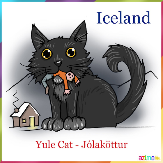 Image result for Icelandic Christmas Cat