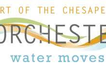 Dorchester County Office of Tourism Logo - Water Moves Us