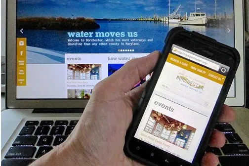Dorchester Tourism's new website