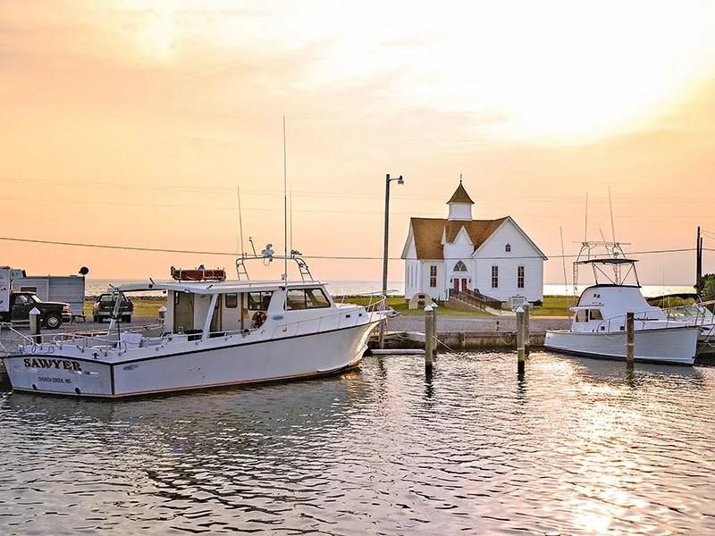 Sunset on Hoopers Island