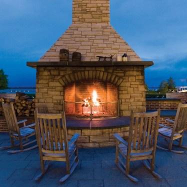 Hyatt Fireplace