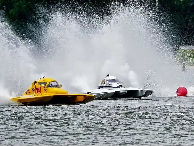 Cambridge Classic Power Boat Regatta; photo by Skip Vanderslice