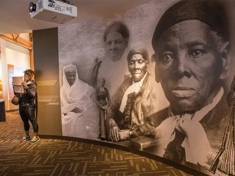 Harriet Tubman Underground Railroad Visitor Center in Dorchester County, Maryland