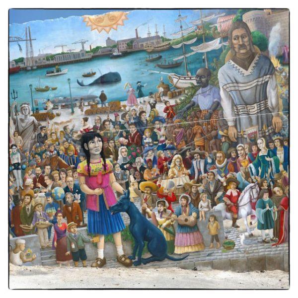 Fresque des Géants «El Xolo»