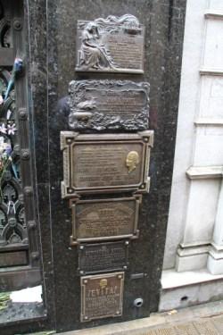 Mausoleum to Eva Perón, La recoleta, Buenos Aires Photo: Kjell Anders Pettersen / Carmen Cristina Carpio Pettersen