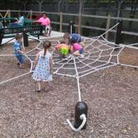 kids play area at david traylor zoo