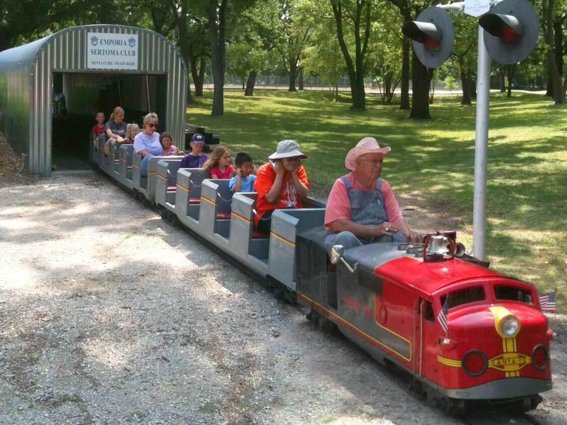 sertoma miniature train
