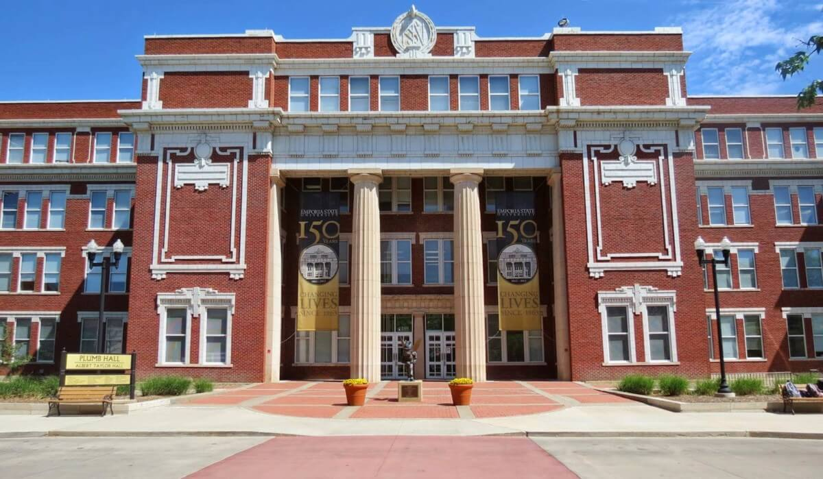 plumb hall at emporia state university