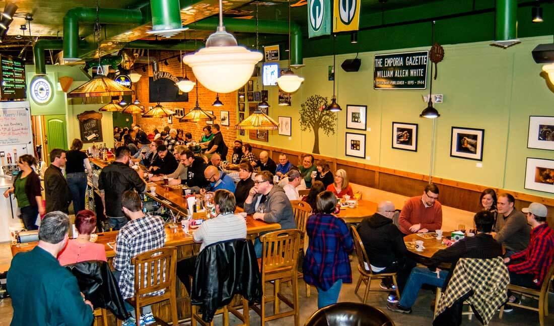 crowd at mulready's pub