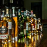 Scotch selection at mulready's pub in downtown emporia