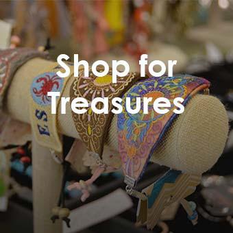 shop for treasures