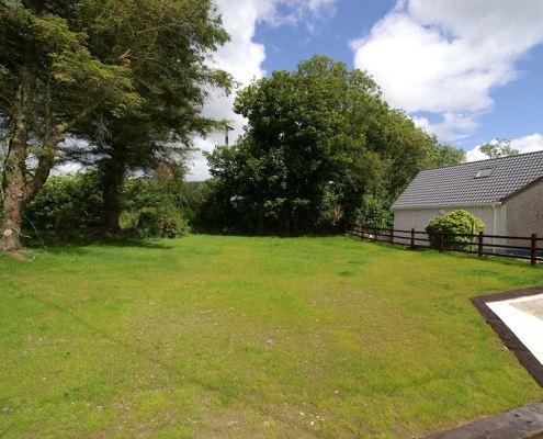 Bridgetown Cottage Kerrykeel - rear garden