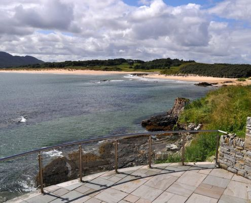 Golf Lodge at Portsalon Donegal - view of the beach