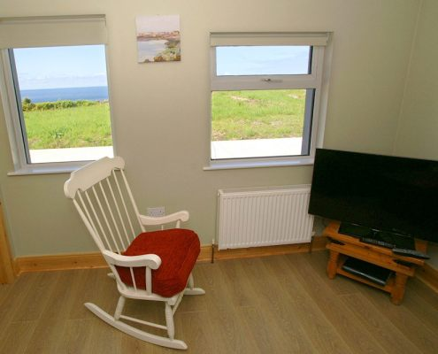 John Owens House Fanad - living area