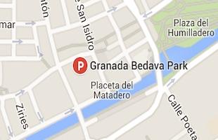 Granada Bedava Park parking